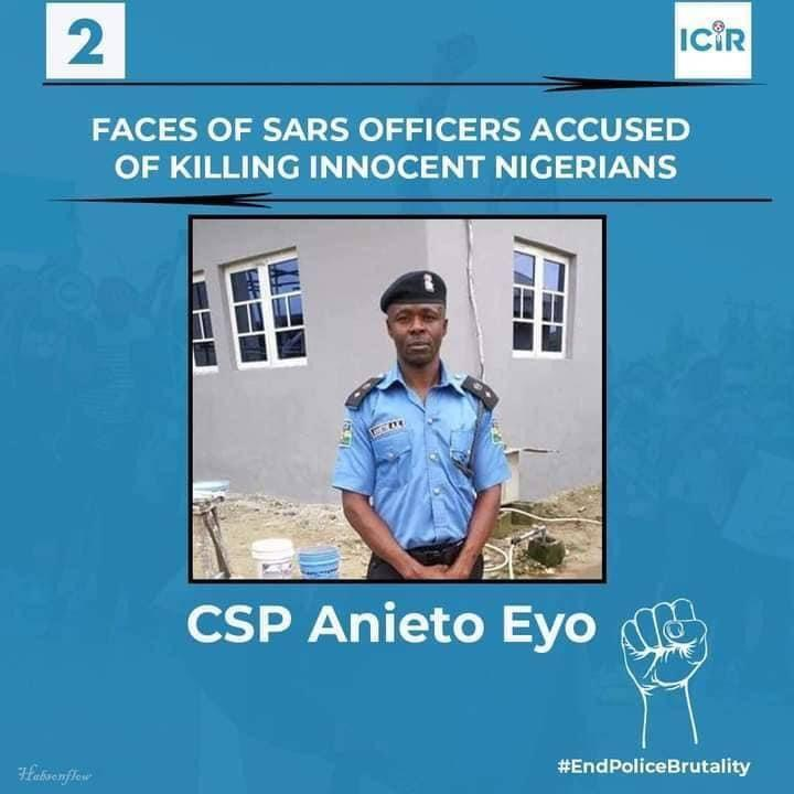 SARS Officer Accused of Killing Innocent Nigerians - CSP Anieto Eyo