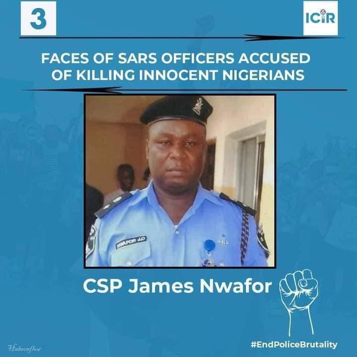 SARS Officer Accused of Killing Innocent Nigerians - CSP James Nwafor