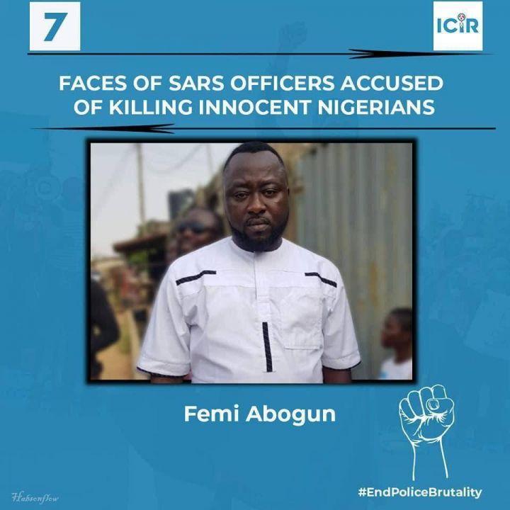 SARS Officer Accused of Killing Innocent Nigerians - Femi Abogun