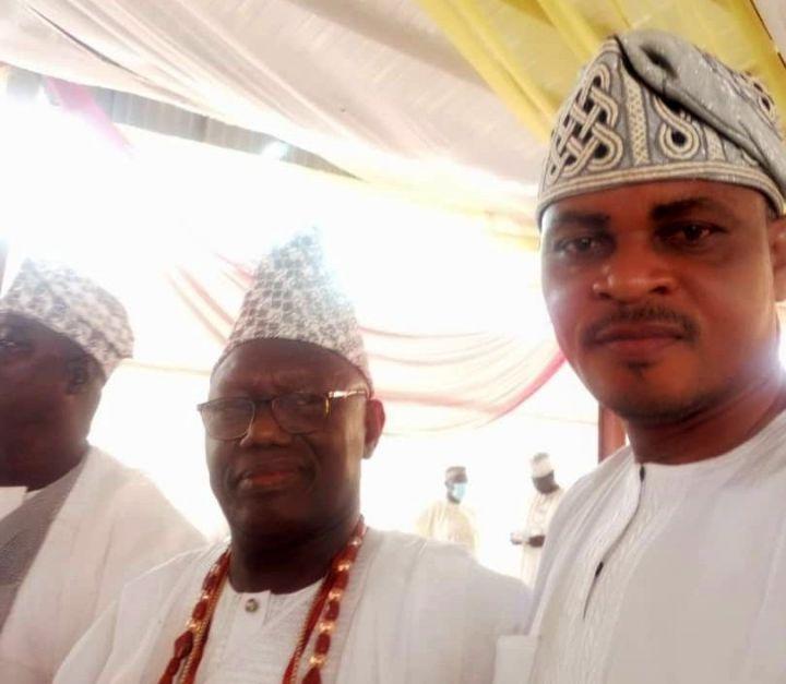 From right - Omooba Adedeji Babington-Ashaye and Hon (Chief) Seye Sonuga, former member of the Ogun State House of Assembly