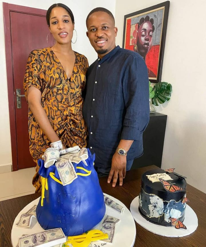 Naeto C and his wife