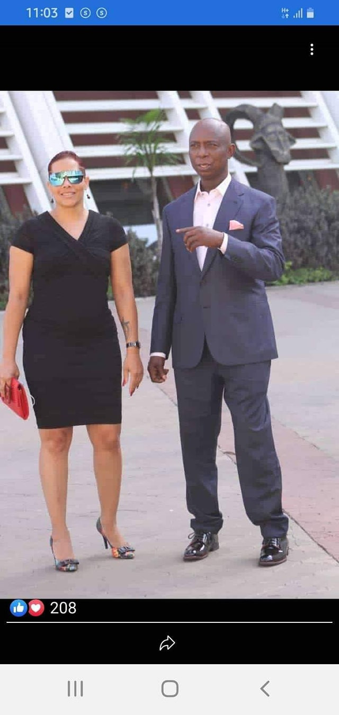 Phyllis Thompson and Ned Nwoko