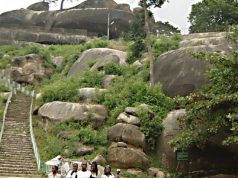 Olumo Rock in Abeokuta, the Capital City of Ogun State, Nigeria