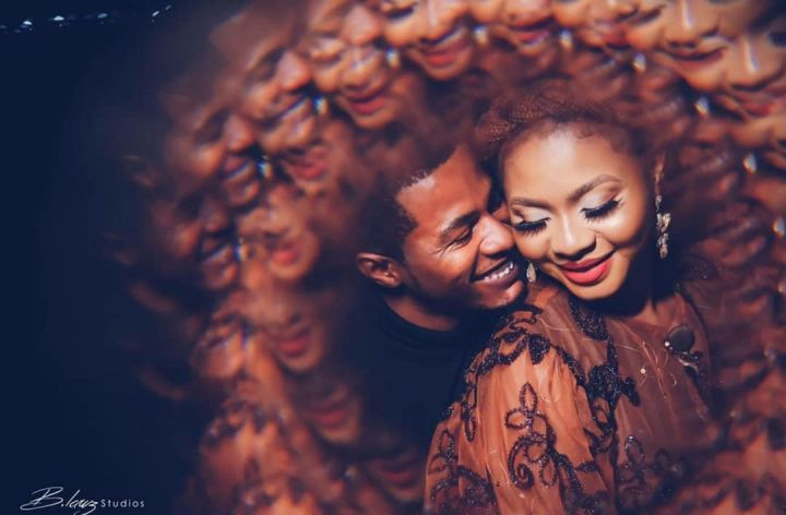 Samuel Ajibola and his wife