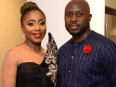 Dakore Akande and her husband
