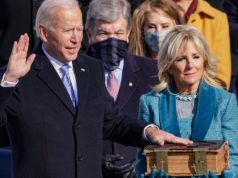 Joe Biden Takes Oath Of Office