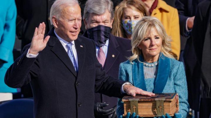Joe Biden Takes Oath Of Office