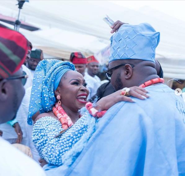 Omawunmi and her husband