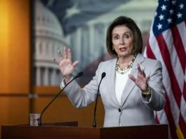 US House of Representatives Speaker, Nancy Pelosi
