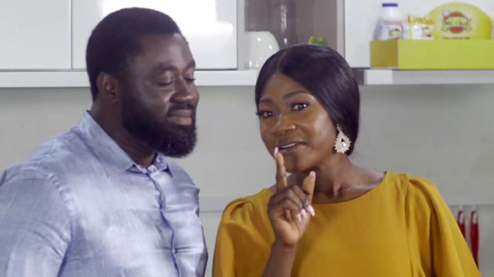 Mercy Johnson and her husband