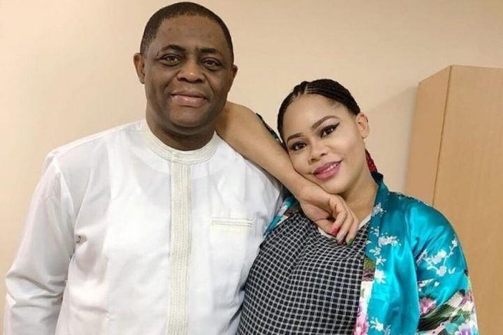 Precious and Femi Fani-Kayode