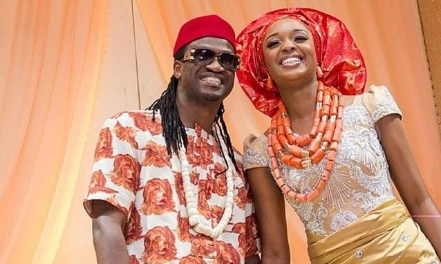 Paul Okoye and his wife
