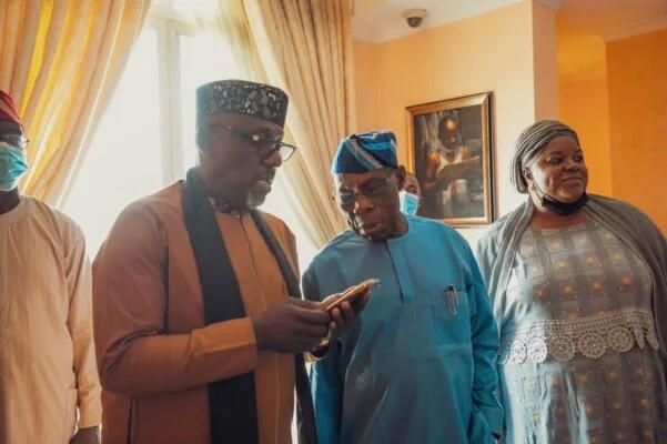 Rochas Okorocha and Olusegun Obasanjo