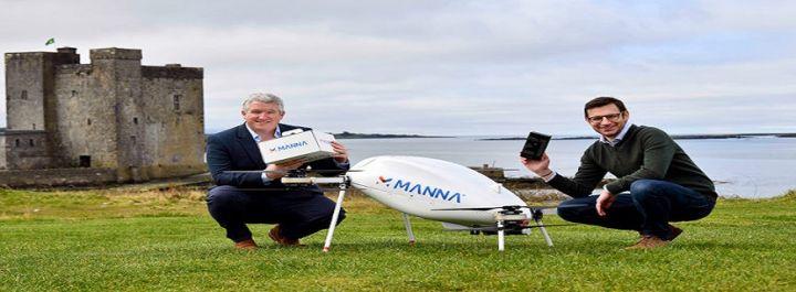 Samsung Drone Delivery