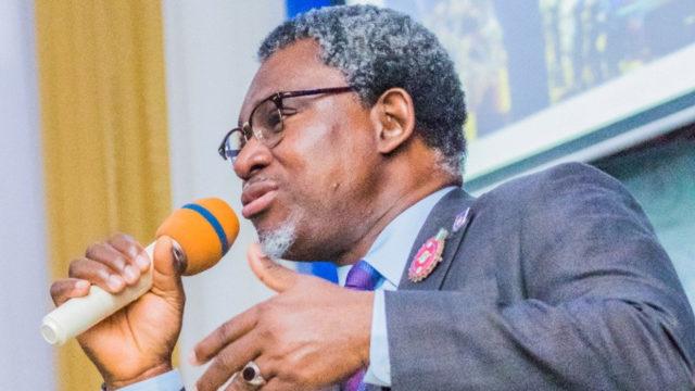 Nigeria's Minister of Solid Minerals and Steel Development, Mr olamilekan Adegbite