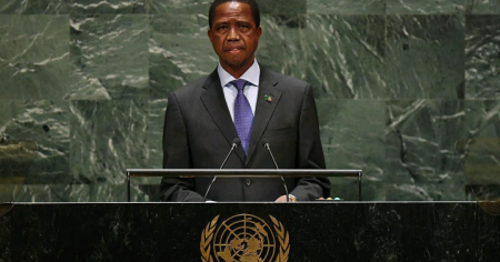 Edgar Chagwa Lungu, President, Republic of Zambia