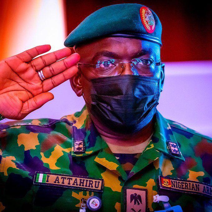 Chief of Army Staff, Lt. Gen Ibrahim Attahiru