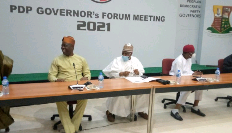 PDP Governors Forum Meeting 2021