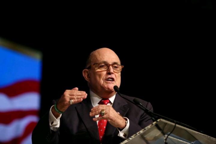 Rudolph Giuliani, former Mayor of New York City