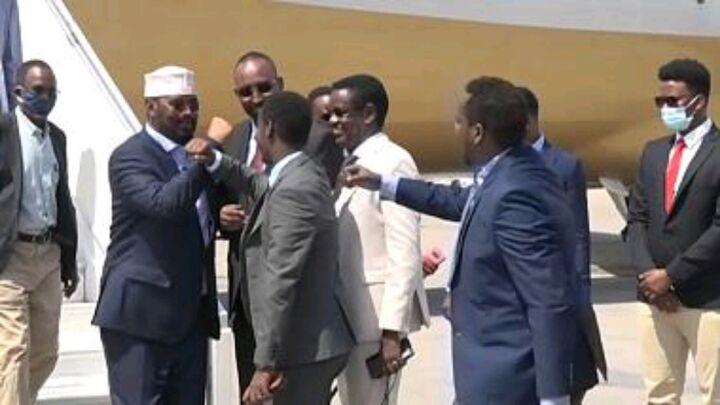 Somali regional leaders jetted into Mogadishu