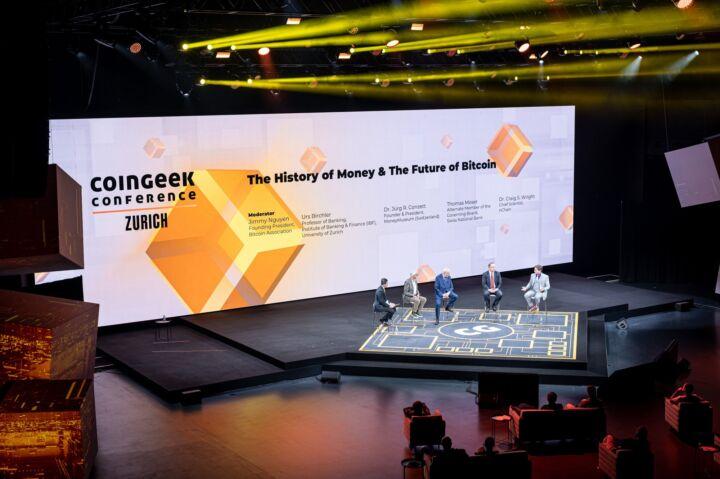 CoinGeek Conference June 8 - 10, 2021 - Zurich