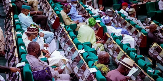 Lawmakers in the House of Representatives [NASS]