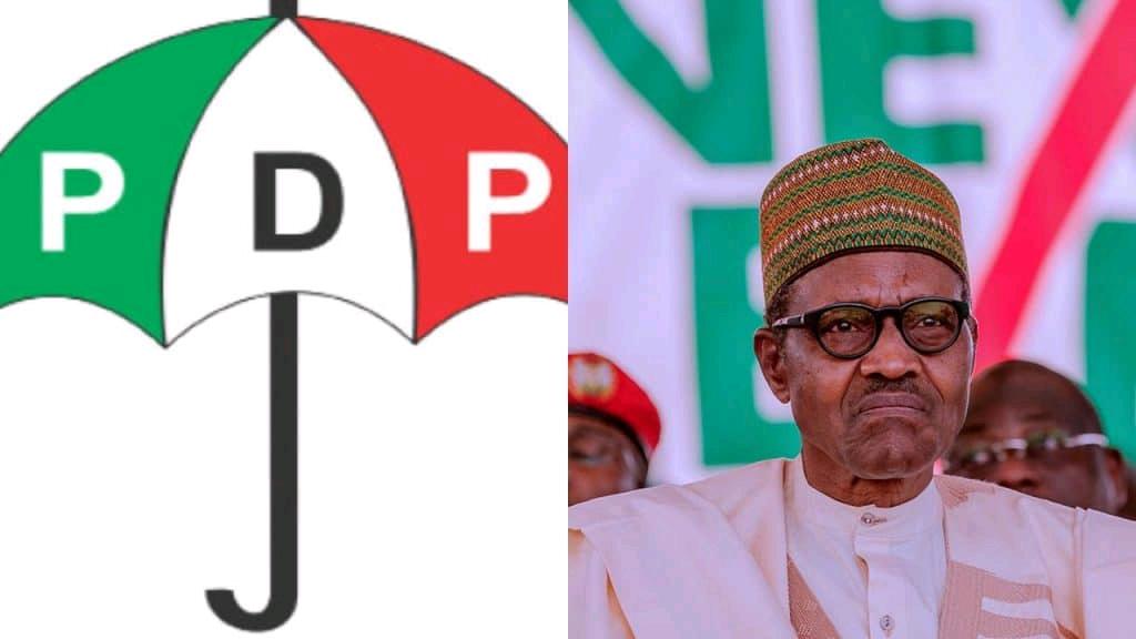 Peoples Democratic Party (PDP) and President Muhammadu Buhari