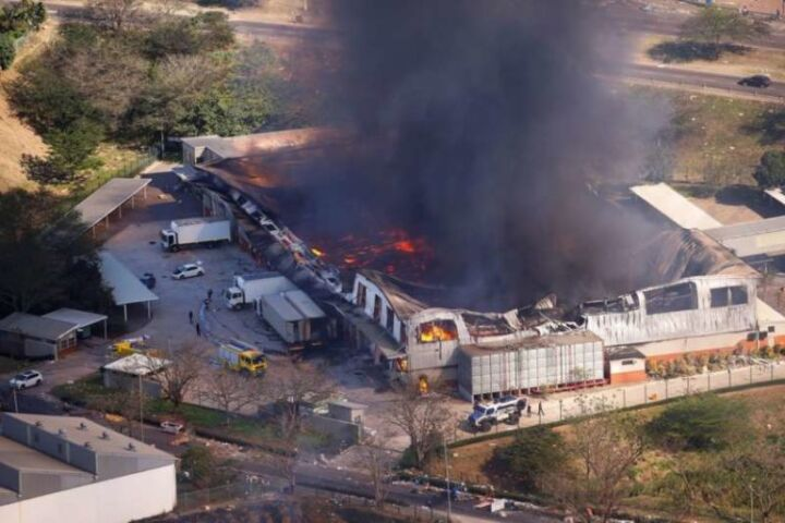 Explosion in South Africa