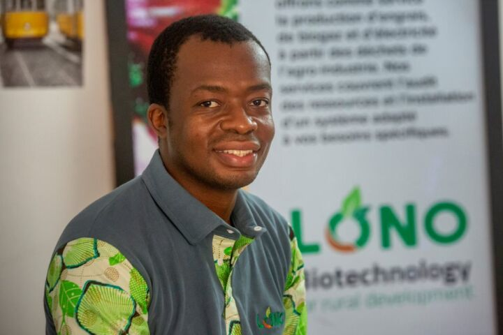 Ivorian Chemical Engineer and Innovation Noël N'guessan