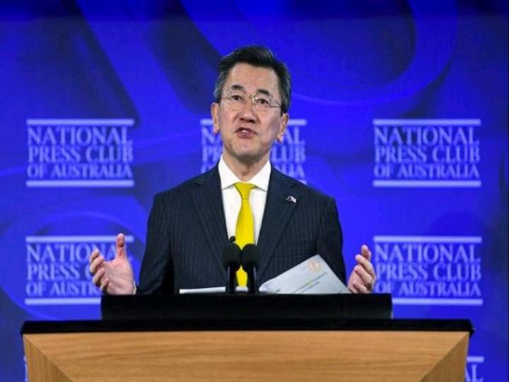Japan's ambassador to Australia Shingo Yamagami