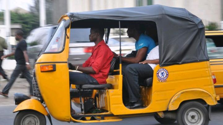 Lagos Tricycle operators