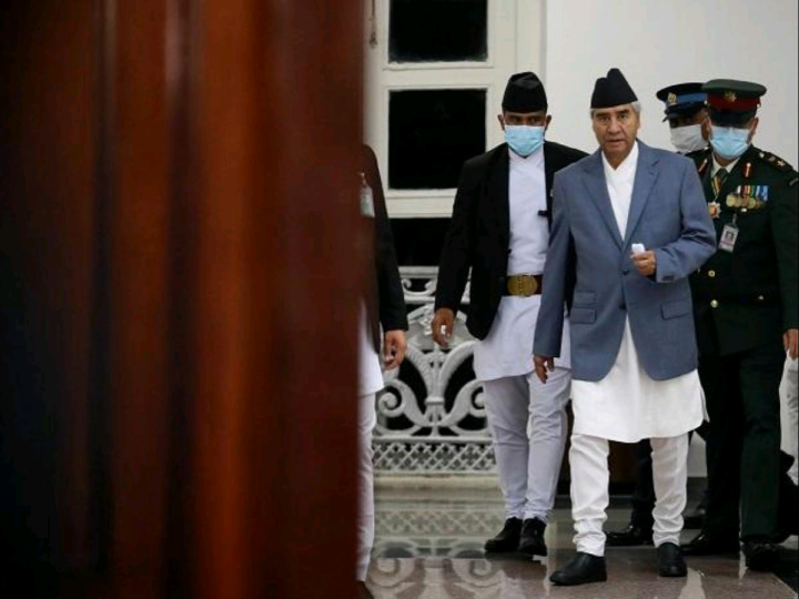 Newly appointed Nepal Prime Minister Sher Bahadur Deuba
