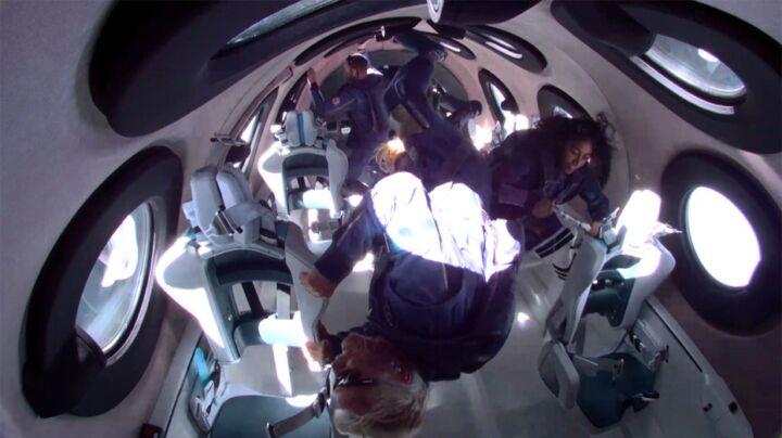 Richard Branson Virgin Galactic Zero Gravity