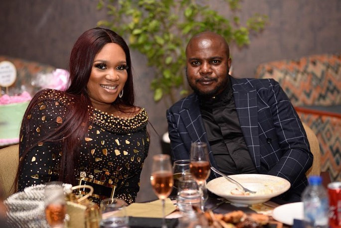Sandra Iheuwa and Steve Chidi