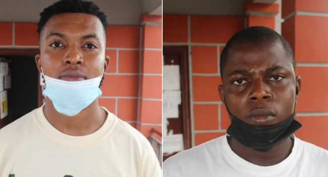 Two-sentenced by court