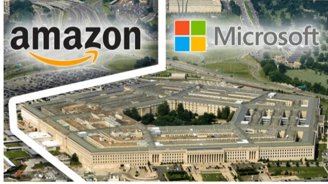 Amazon Microsoft