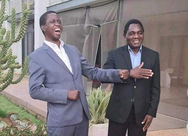 Edgar Lungu and Hakainde Hichilema