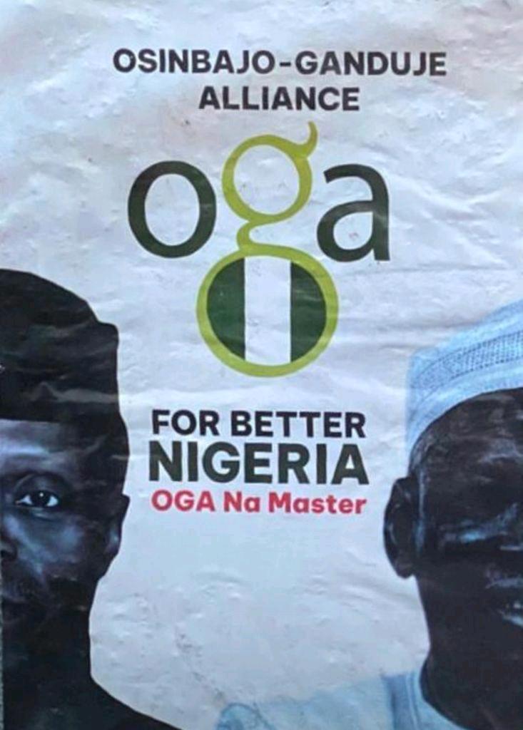 Osinbajo-ganduje Campaign Flier