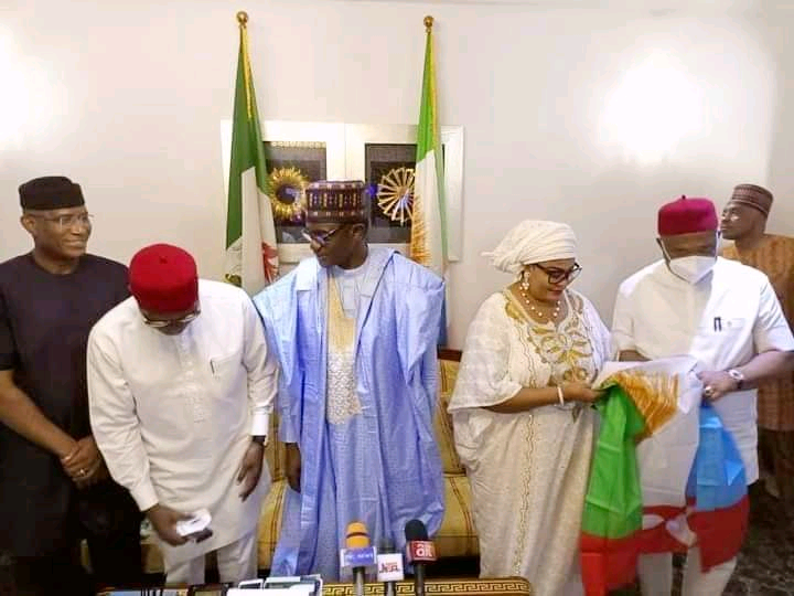 Stella Oduah With APC Members