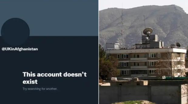 UK Afghanistan Twitter