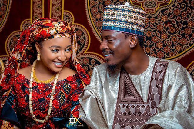 Bashir Ahmad and his wife