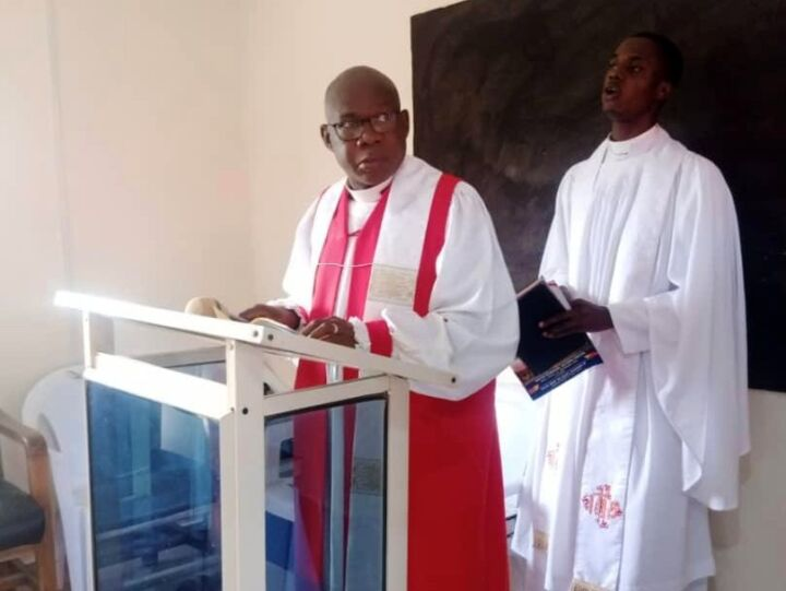 Bishop of the Anglican Diocese of Ijesha North, Rt. Revd. Dr. Isaac Oluyamo