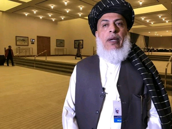 Sher Mohammad Abbas Stanekzai, the Head of Taliban's Political Office in Doha