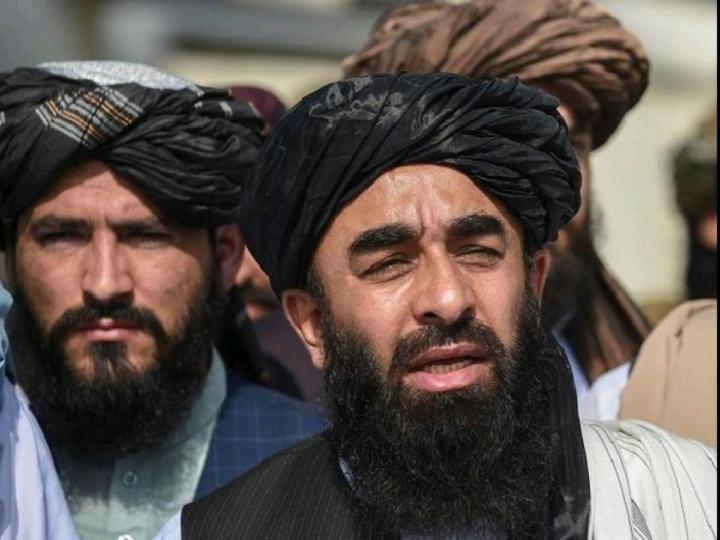 Taliban spokesperson Zabiullah Mujahid