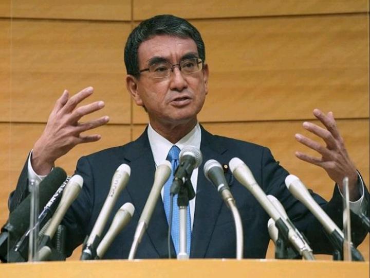 Taron Kono, Japan's Regulatory Reform And Vaccine Minister