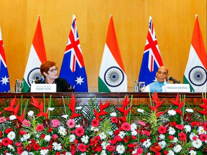 Union Defence Minister Rajnath Singh and External Affairs Minister Dr. S Jaishankar