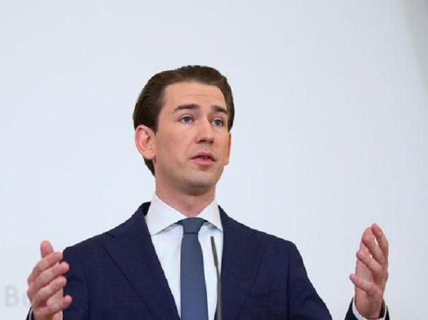 Austria's conservative Chancellor Sebastian Kurz