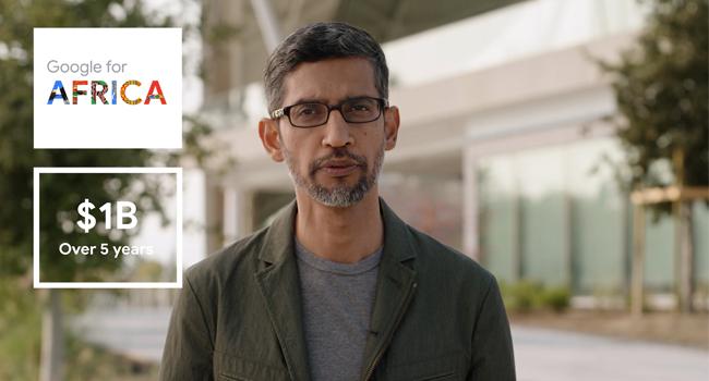 Google CEO, Sundar Pichai.