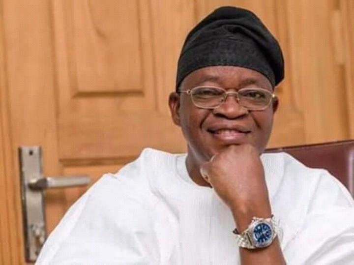Governor of Osun State, Adegboyega Oyetola