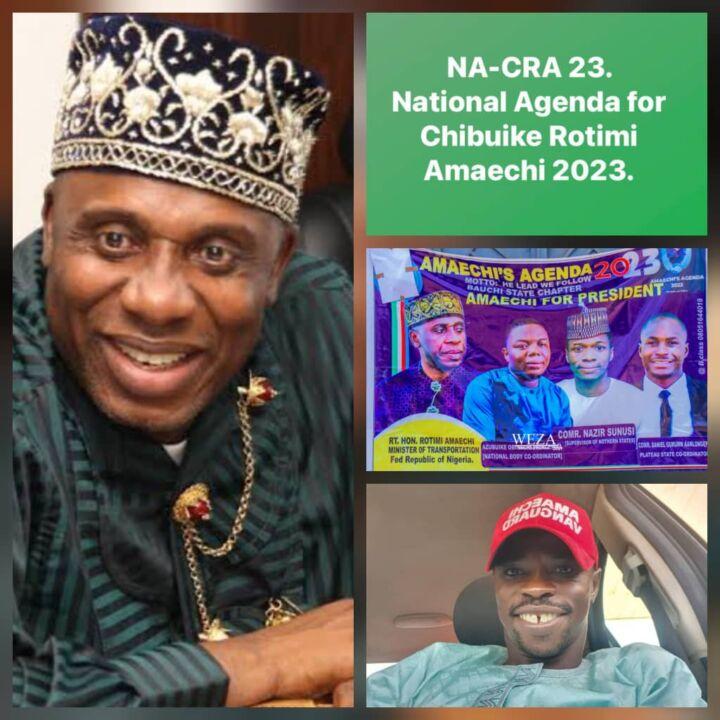 National Agenda for Chibuike Rotimi Amaechi (NACRA23)